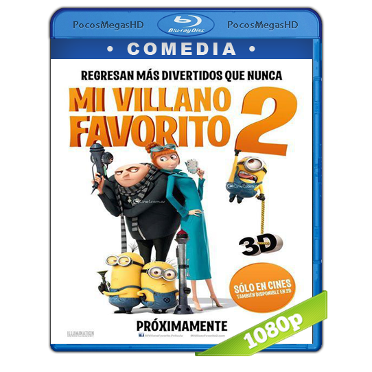Mi Villano Favorito 2 (2013) BRRip 1080p Audio Dual Castellano   Ingles 5.1 (peliculas hd )