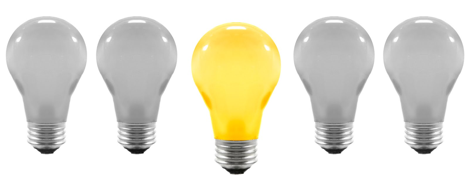 Bright Idea Light Bulb Clip Art