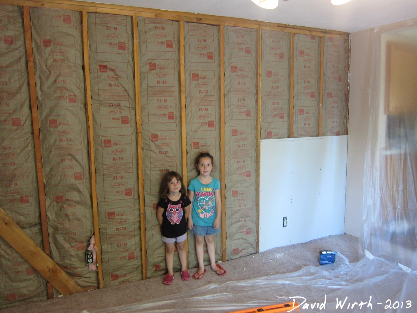 How to hang drywall on a ceiling - Drywall And Insulation