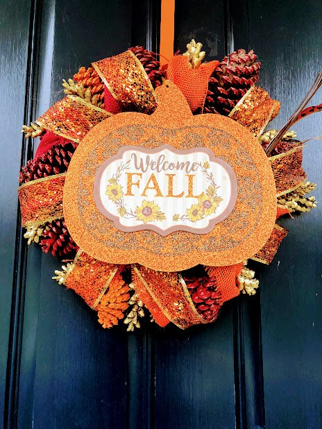 Get Your Own Fall Wreath