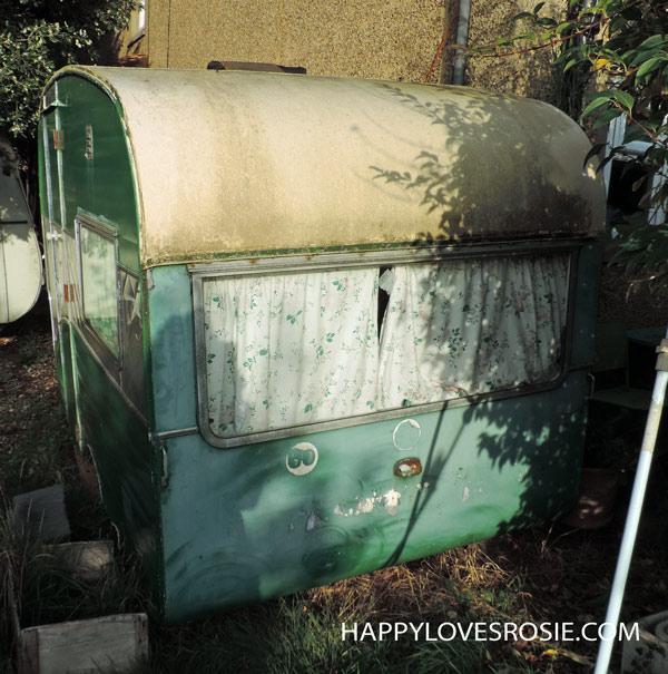 vintage holivan needs a repaint