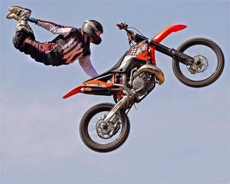 gambar jump style motor cros