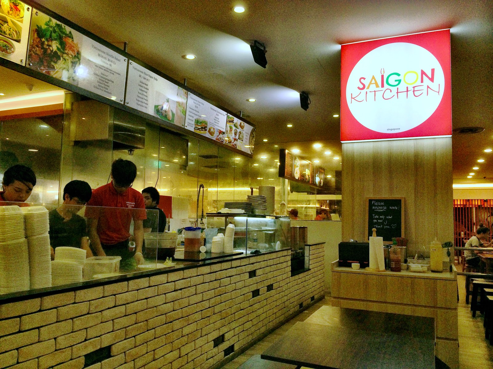 the silver chef: saigon kitchen - a taste of vietnam in thomson plaza
