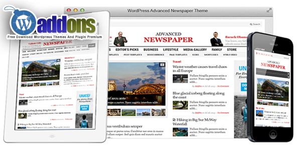 Free Download Advanced Newspaper Version 3.6 Gabfirethemes
