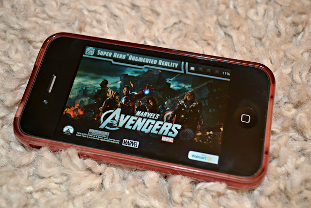 Avengers Augmented Reality App for iPhone #MarvelAvengersWMT
