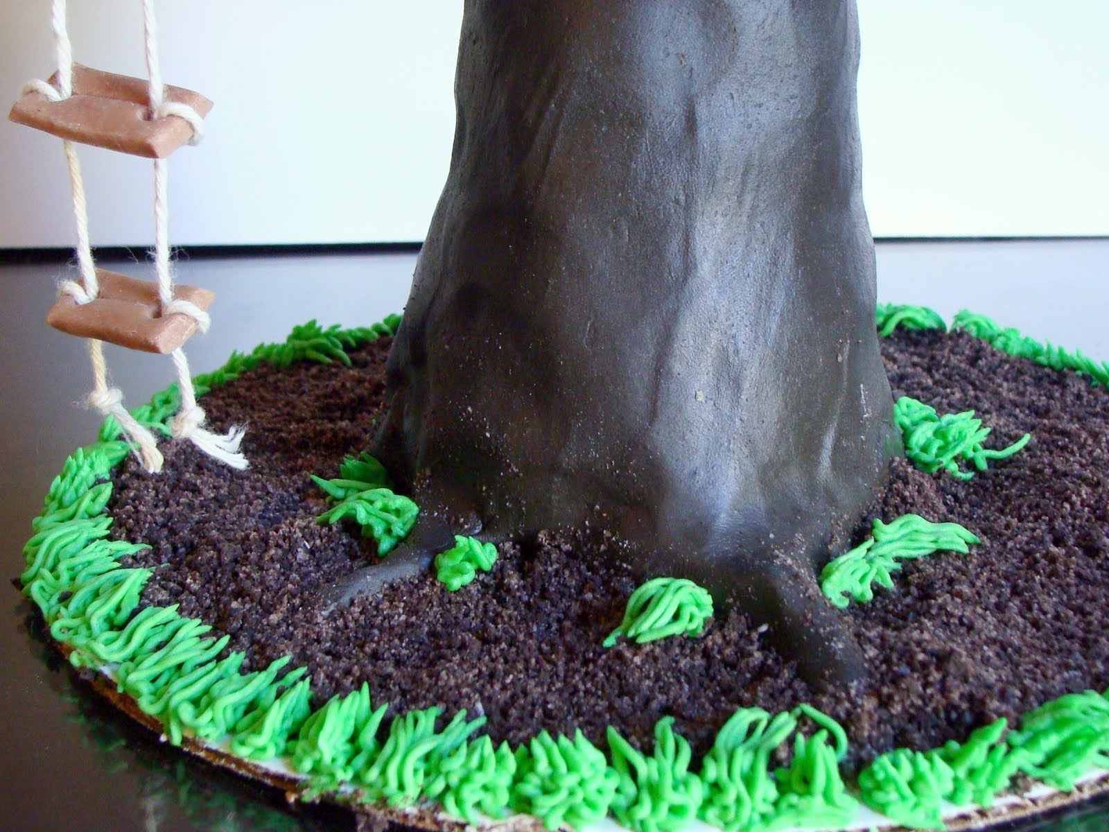 Treehouse Birthday Cake