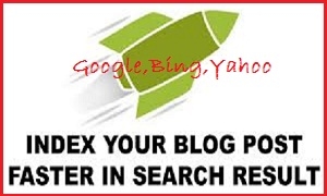 Way to ,Manually, Index ,Blog Post,google,yahoo,bing,search,engine