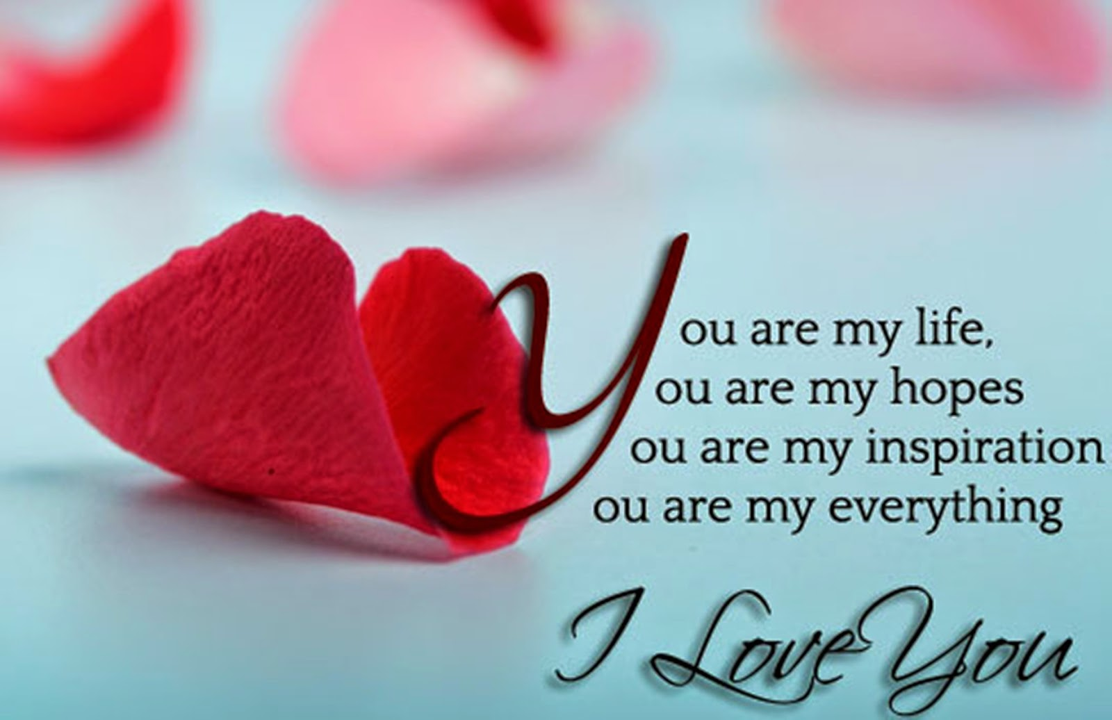 Love Wallpaper Msg : LOVE MESSAGES, WALLPAPERS - Beautiful Messages