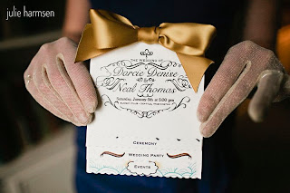 Look at this cute and creative wedding ceremony program - posted by Patricia Stimac, Seattle Wedding Officiant