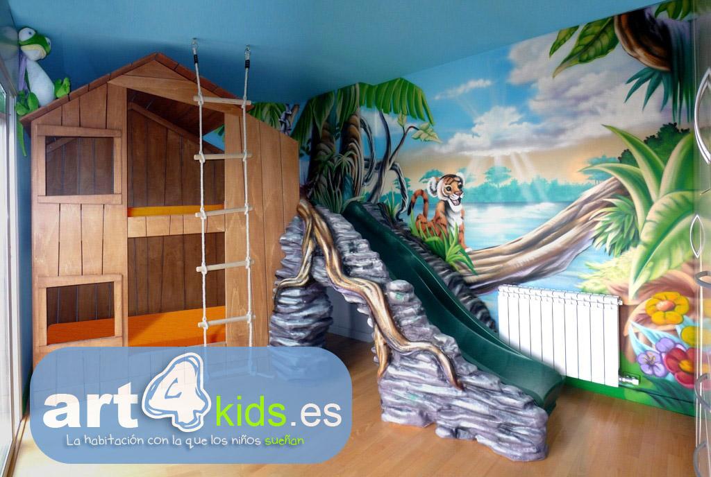 Jose manuel dana escultor habitaciones tematicas sabana - Habitaciones tematicas infantiles ...