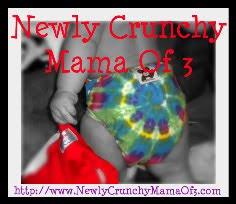 Newly crunchy mama of 3