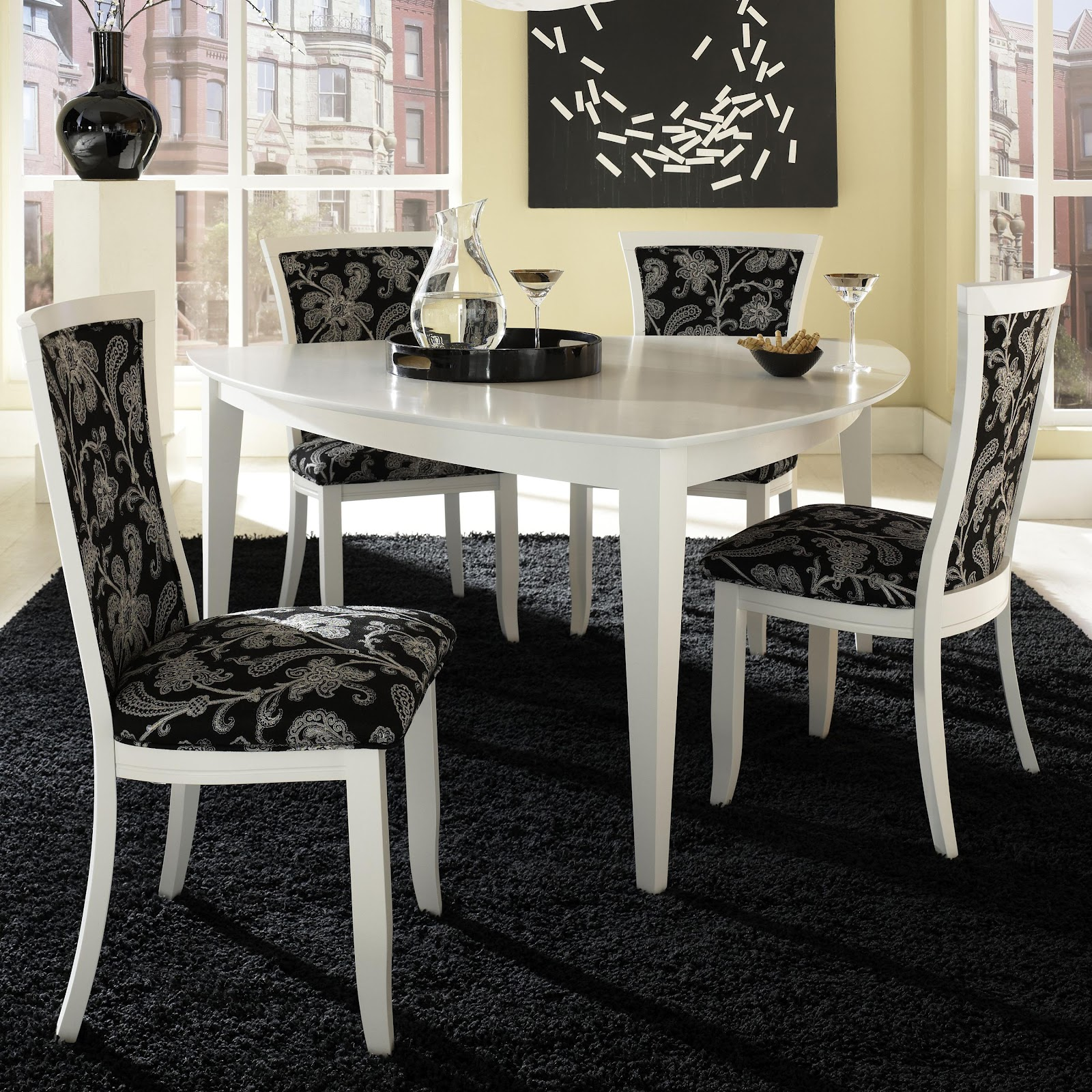 Awesome Triangle Kitchen Table Collection Also Island: Canadel Furniture Long Island New York NY