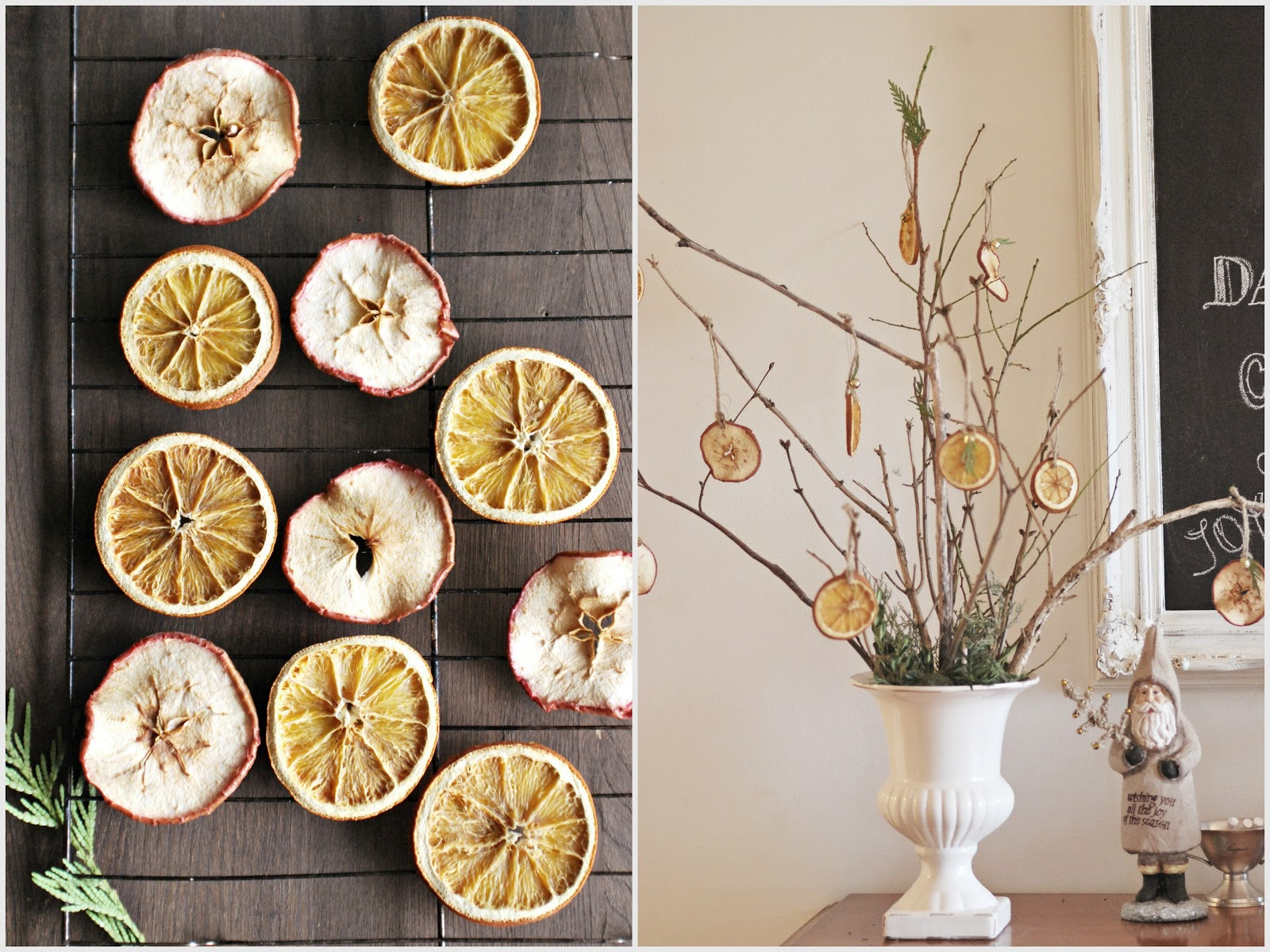 Drying Out Oranges Christmas Decorations Sylvias Simple Life 12 14 12
