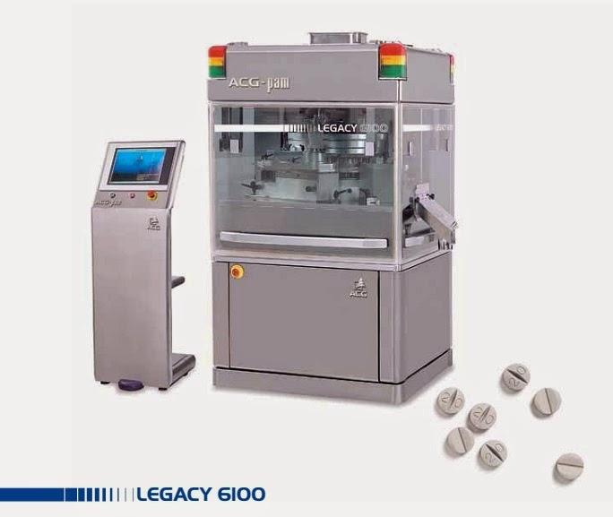 máy sản xuất viên thuốc nén cao cấp ấn độ legacy 6100