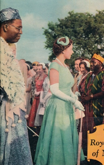 Queen Elizabeth visit in Nigeria