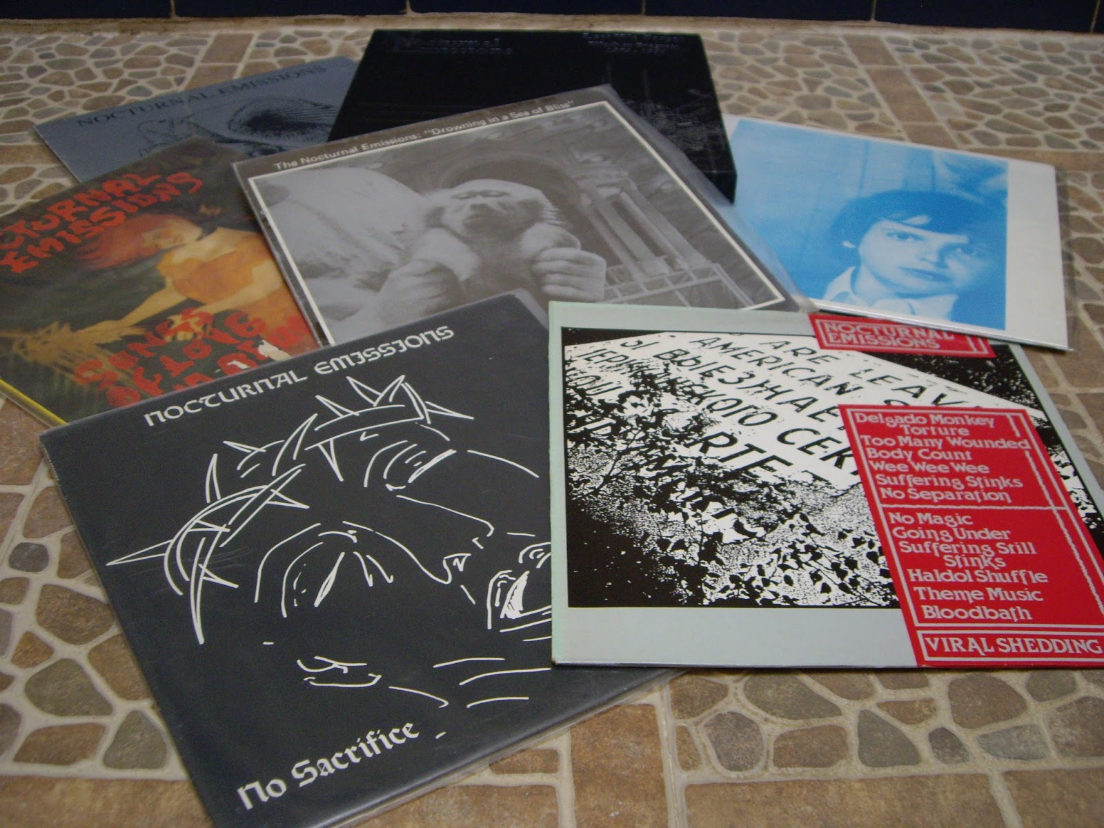 Nocturnal Emissions The Bleeding Images
