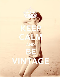 Keep calm and be vintage