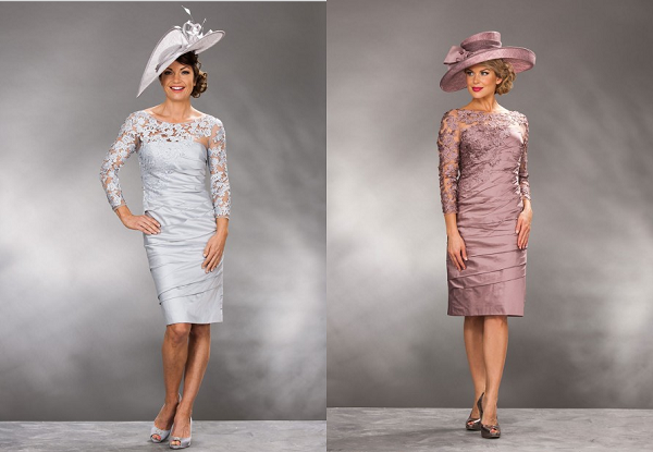 mother of the bride dresses with sleeve