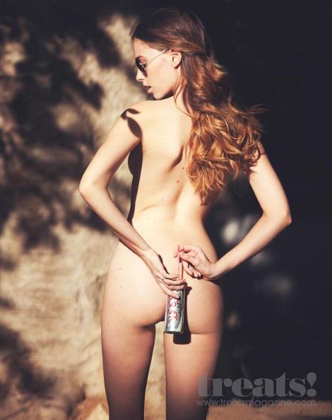 modelo anthea fotografia por david bellemere revista treats mulheres beleza