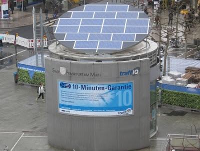 Солнечная станция зарядки для электромобилей Evergreen Solar Fuel Station