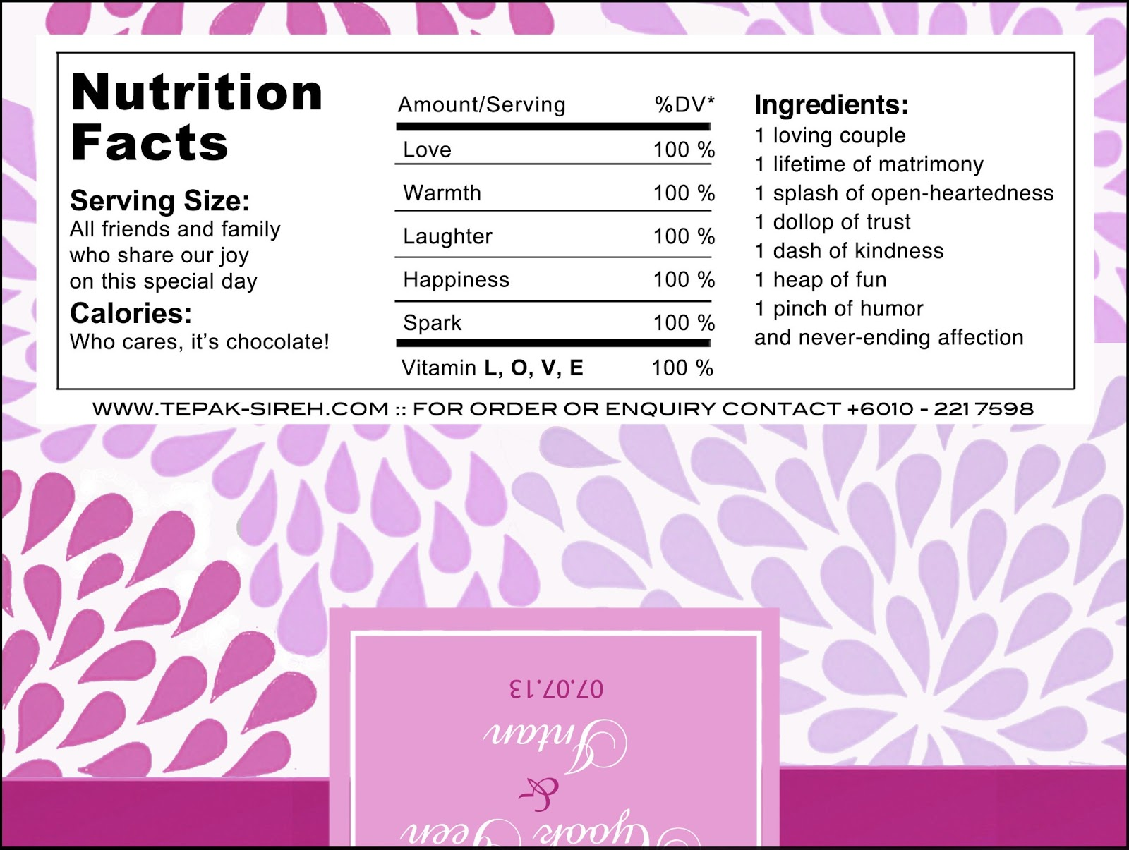 Chocolate Birthday Cake Nutrition Facts Image Inspiration of Cake