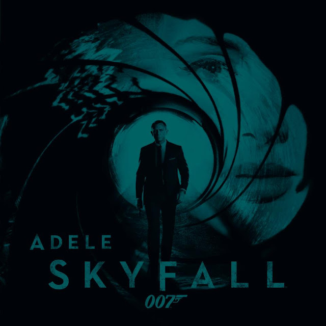 Adele Skyfall single cover James Bond