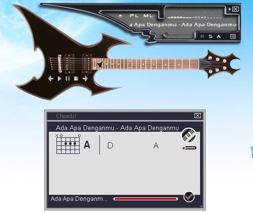 Mencari Kunci Gitar Otomatis