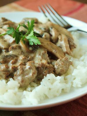Easy Beef Stroganoff (Gluten-Free, Low-Fructose)