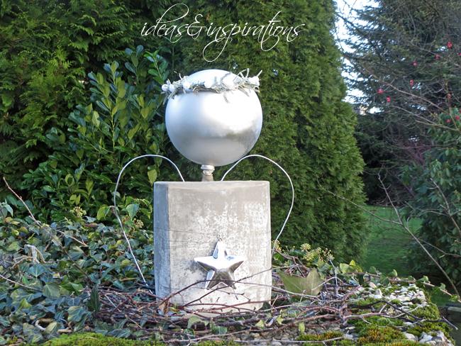 engel aus beton selber machen, ideas and inspirations: diy: xxl engel aus beton * concrete angel, Design ideen