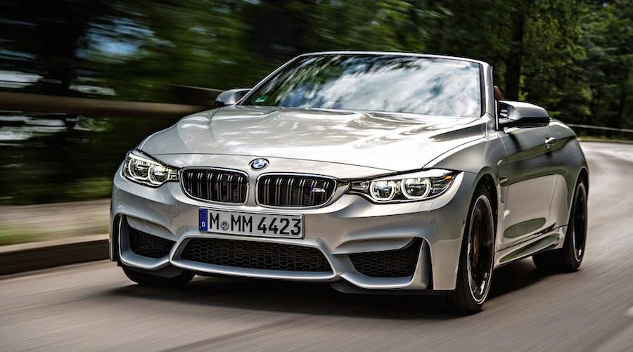 「BMW M4コンバーチブル」の新たなオフィシャル画像が追加公開
