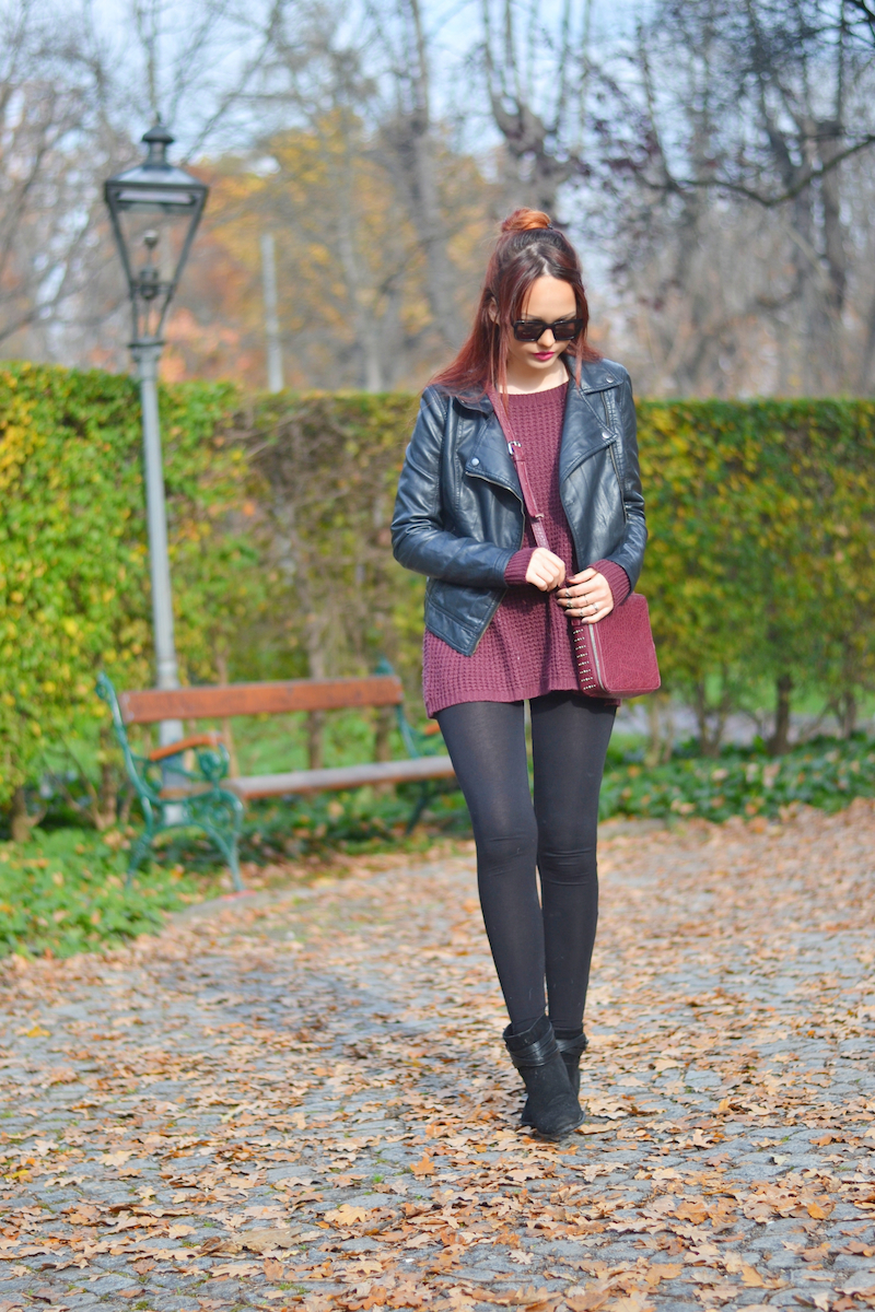 Herbst_Outfit_bordeaux_Pullover_Sonnenbrille