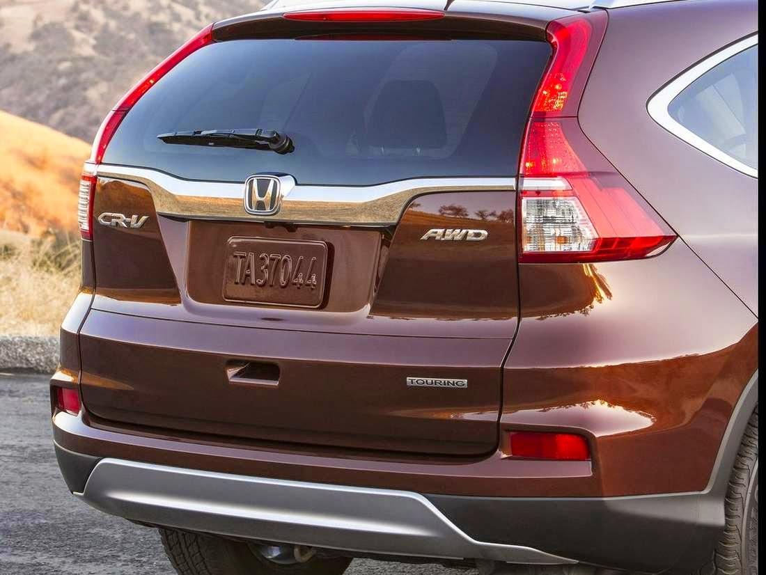 Honda Cr-v 2015 fotos trazeira