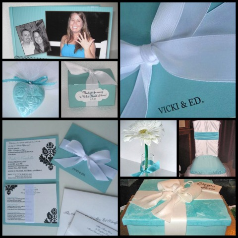 Bridal Shower Invitations Tiffany Blue