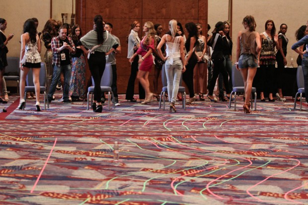 Miss Universe 2011 Contestants exercises