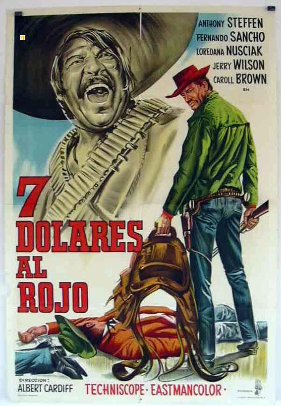 7 dólares al rojo (1966)