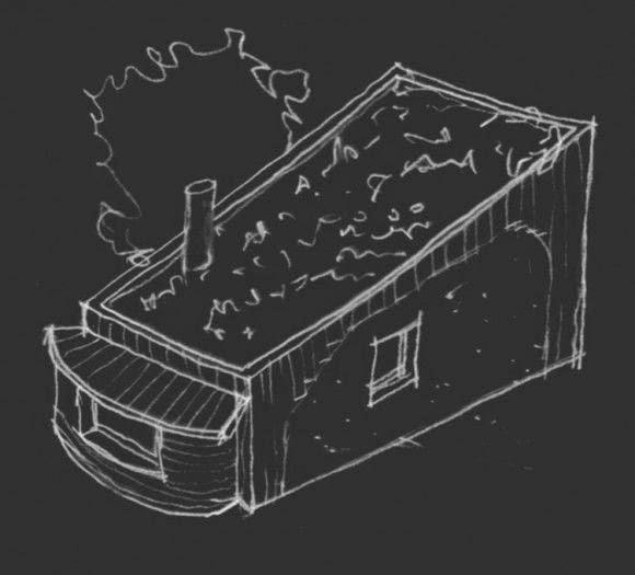Bala-Box, Vivienda con Bloques Compactos de Paja y Madera