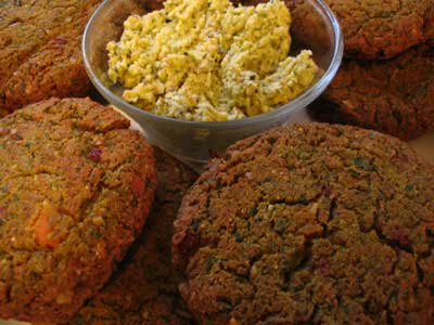 Baked Mixed Vegetable Cutlets (Sabji Tikki)
