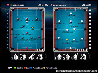 Gameplan 8 Ball Pool for PES 2013 by Asun11