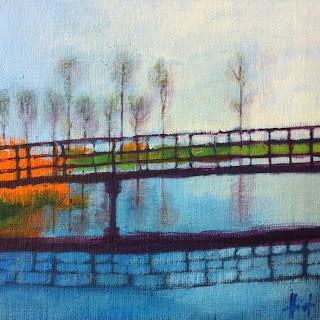 Dutch Bridge by Liza Hirst