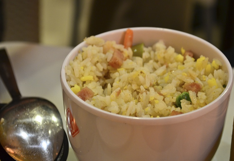Yang Chow Fried Rice, Dimsum Break