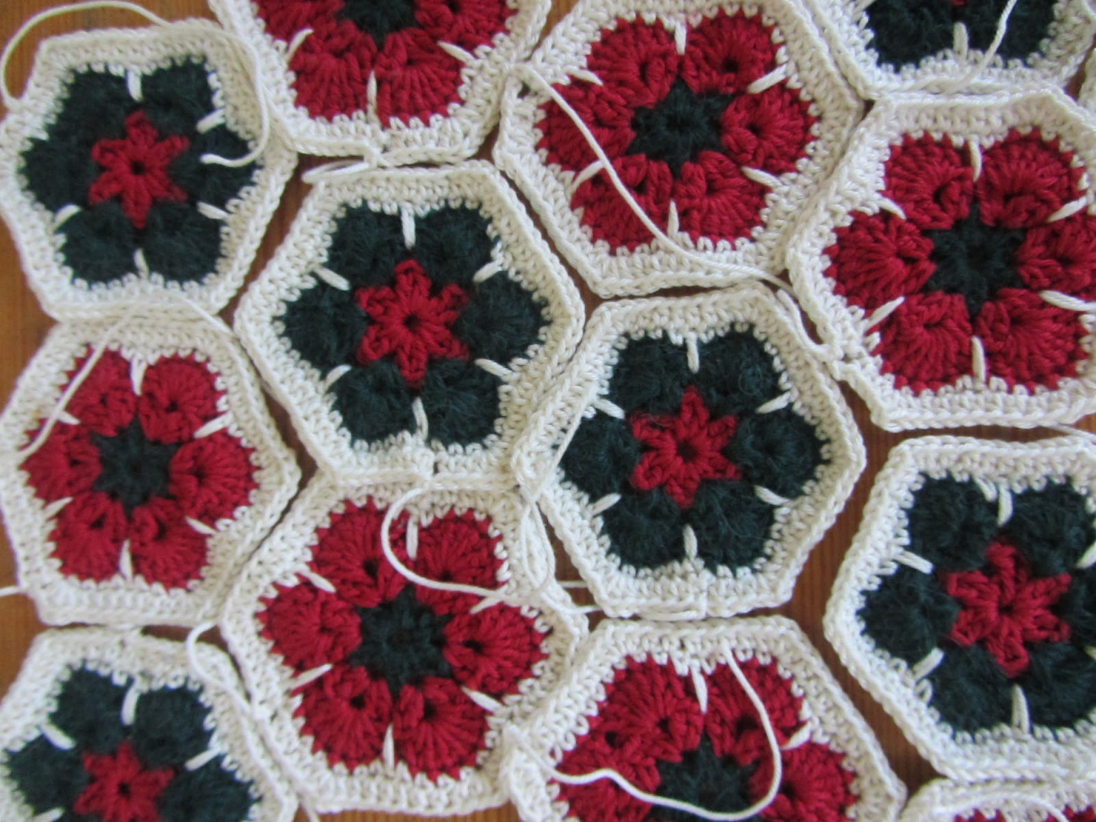 Free Crochet Pattern For Granny Square Christmas Stocking : Ridgeway Cottage anyhow: Granny square Christmas