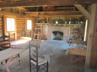 Black Powder Era Fort King George Building Interior