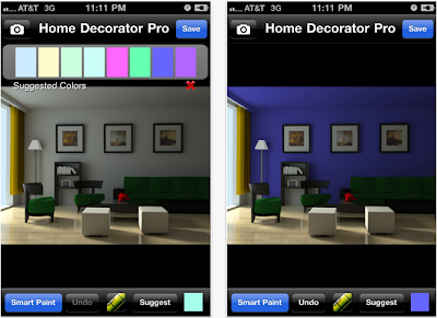 Home decorator iPhone app