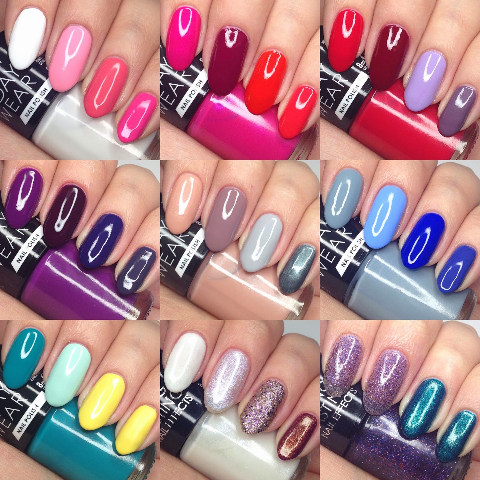 Collection Cosmetics New Up To 7 Day Wear Long Lasting Nail Polish