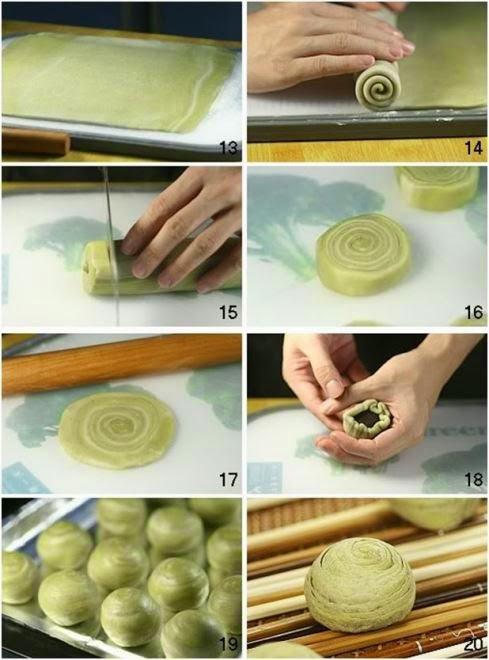 Bánh trung thu ngàn lớp kiểu Nhật Bản 3