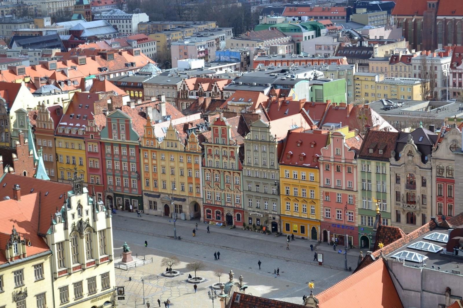 Wrocław, panorama wrocławska, wroclaw, starówka wrocławia