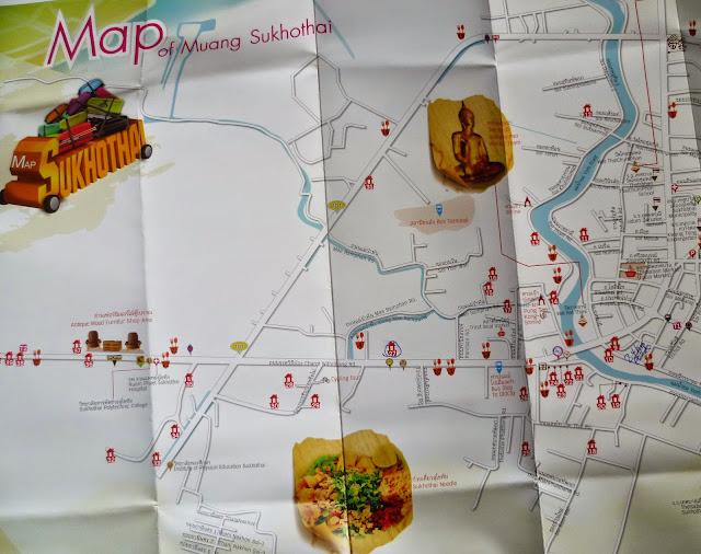 Sukhothai map