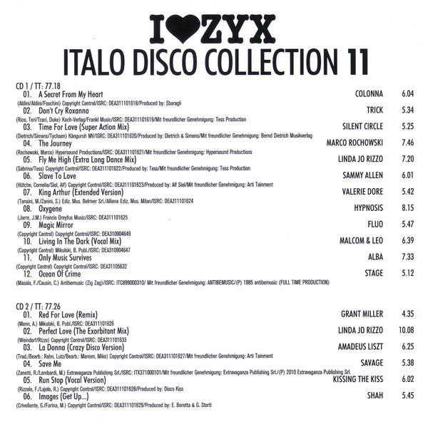VA - I Love ZYX Italo Disco Collection 11 3 CD!