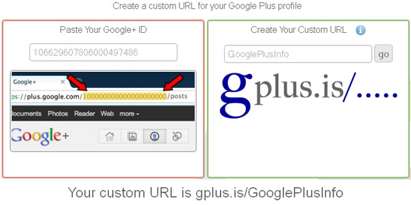 10 Sites to Create Shortened Google Plus Profile URL: gplus.is