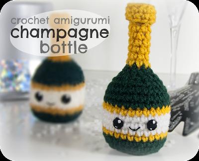 Crochet Amigurumi Blogs : Free Crochet Amigurumi Champagne Bottle Pattern ...
